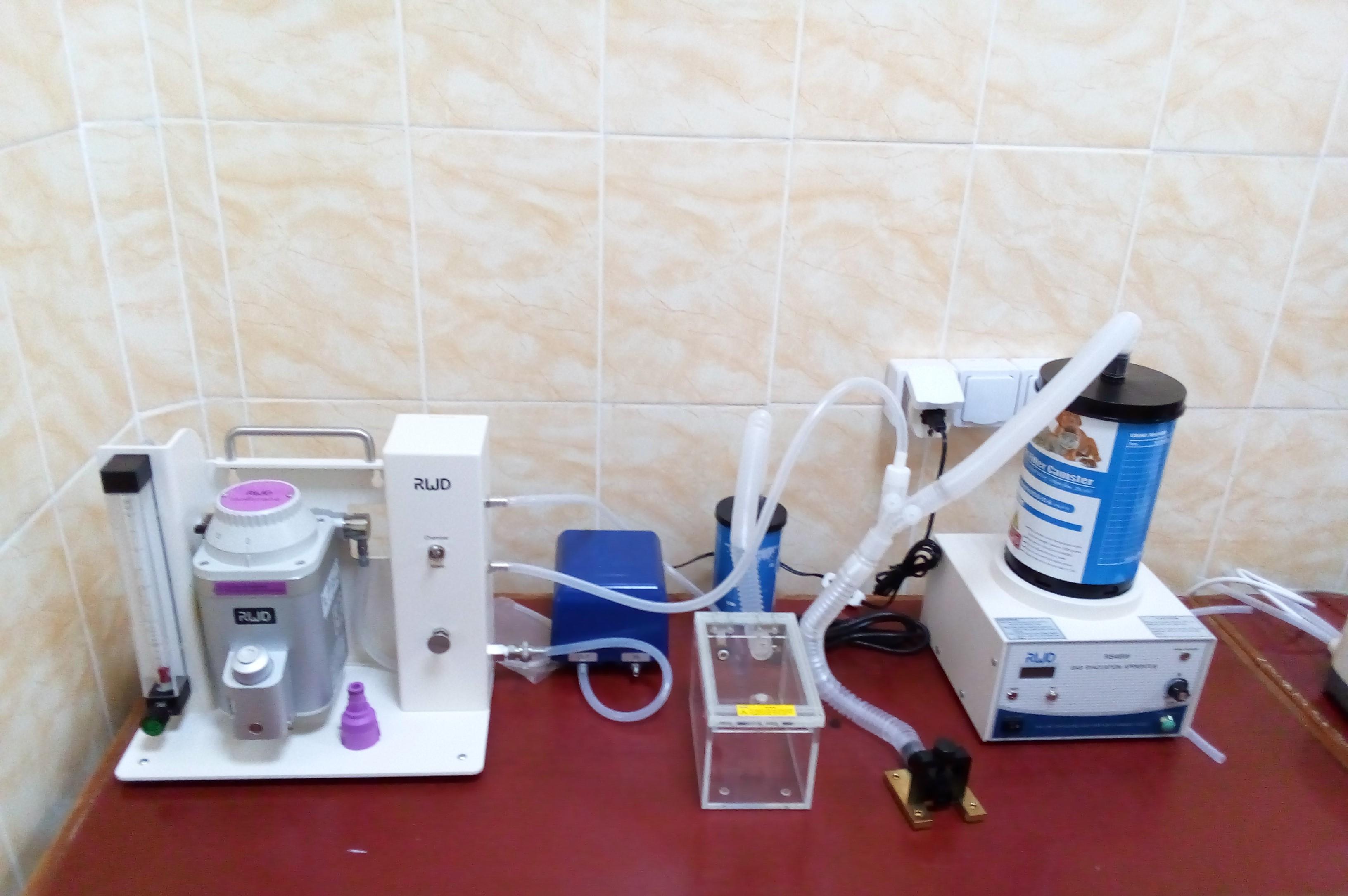 Наркозно-дыхательное оборудование RWD_1