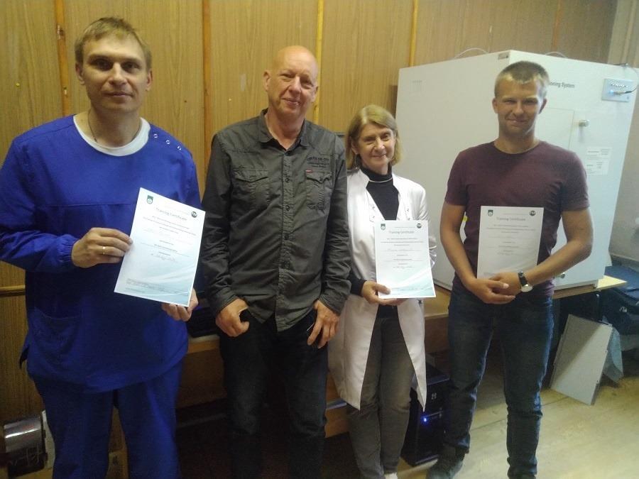Сертификаты от TSE