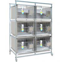 AK_ 4200 система для содержания кроликов на 6 клеток