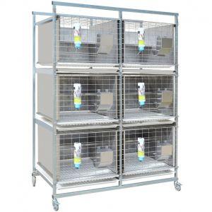 Клетки для лабораторных кроликов