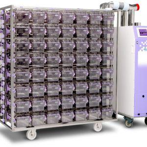 Напольная система подачи и отведения воздуха EcoFlo Tower Blower