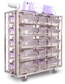 Комбинированный стеллаж на 15 клеток NexGen 1800 & 900